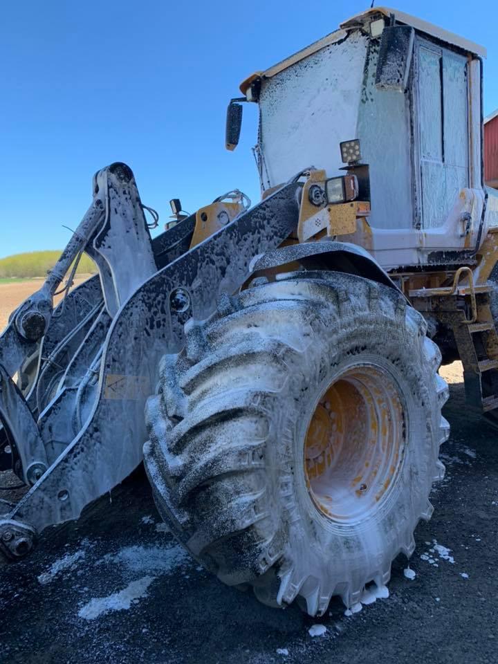 Nerta Tractor of trekker schoonmaken